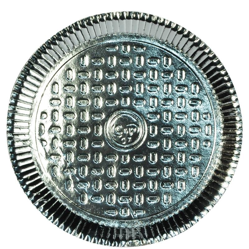 Prato Laminado N 07 36,5 cm - 20 uni.