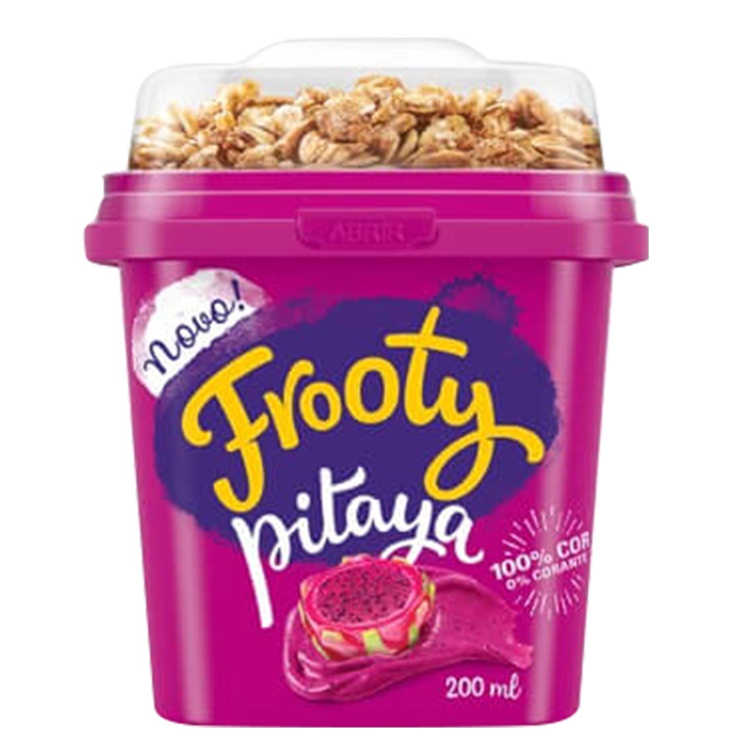 Creme de Pitaya com Granola Frooty - 12 und. de 200gr
