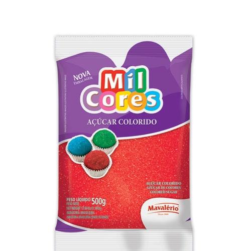 Açúcar Granulado Vermelho Mavalério 500 grs