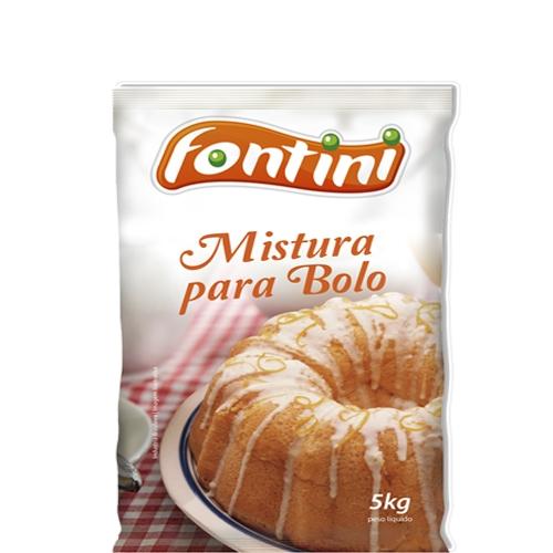 Mistura para Bolo Fontini Sabor Limão 5Kg