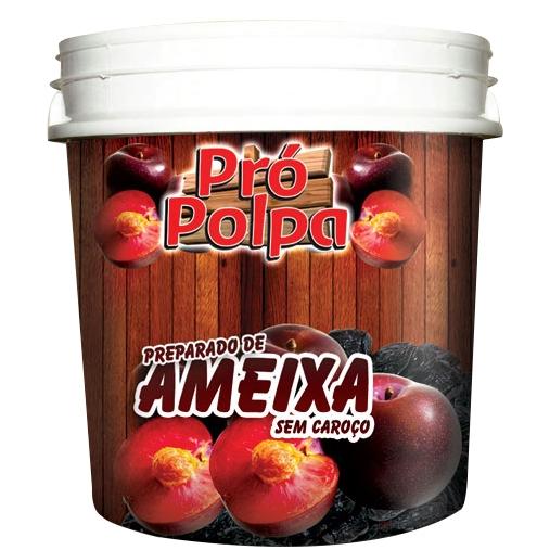 Polpa de Ameixa Pro Polpa Balde - 4,3 kg