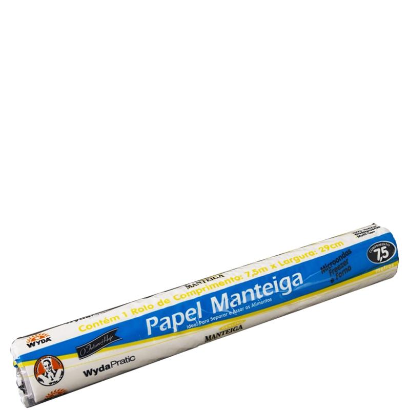 Rolo de Papel Manteiga Wyda PMR - 7,5m
