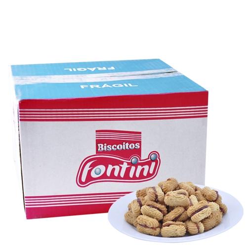 Biscoitos Amanteigados Comprido Fontini 2,5 Kg