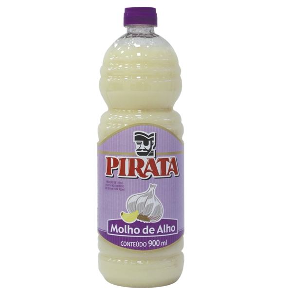 Molho de Alho Pirata 12 uni. 900 ml