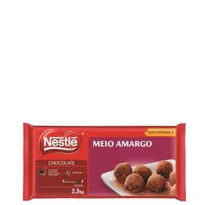Barra Nestlé Chocolate Meio Amargo 2,1kg