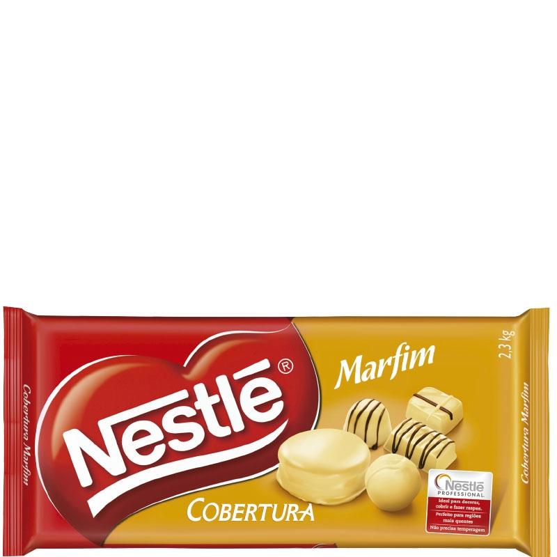 Barra Nestlé Chocolate Marfim 2,1kg