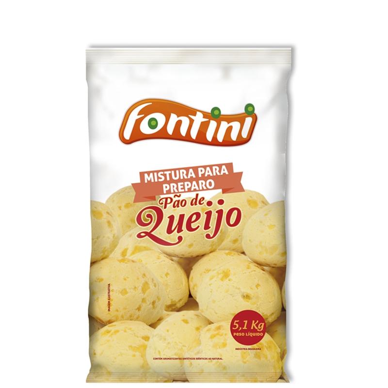 Mistura para Pão de Queijo Fontini 5,01 Kg