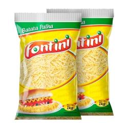 Batata Palha Fontini 1 Kg