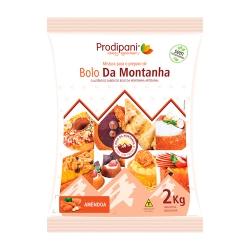 Mistura para Bolo da Montanha Prodipani Sabor Amendoa 2Kg
