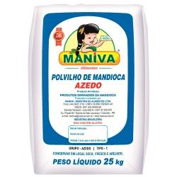 POLVILHO AZEDO MANIVA ARTESANAL 25 KG