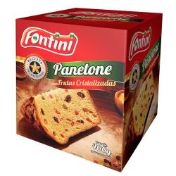 PANETONE COM FRUTAS FONTINI CX 400 GR