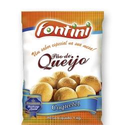 PÃO DE QUEIJO COQUETEL FONTINI 1 KG