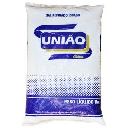 SAL REFINADO UNIÃO 1KG