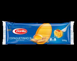 MACARRÃO OVOS ESPAGUETE N9 BARILLA 30/500 GR