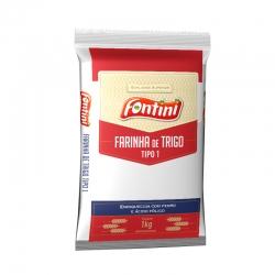 Farinha de trigo Especial Fontini - Fardo com 10 uni. de 1Kg