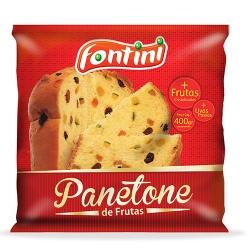PANETONE C/ FRUTAS FONTINI SC 16/400 GR