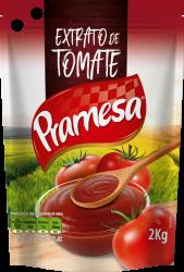 EXTRATO TOMATE PRAMESA POUCH 2 KG