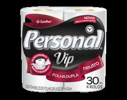PAPEL HIG PERSONAL 30 METROS VIP 16/4 UN