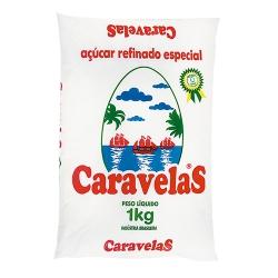 AÇÚCAR REFINADO CARAVELAS 1 KG