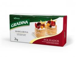 MARGARINA GRADINA FOLHADA PLACA 2 KG