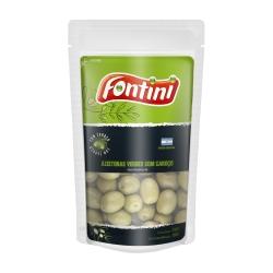 Azeitona Verde com Caroço Fontini Pouch - 24 uni. de 100 grs