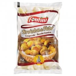 Broinha Mineira de Fubá Fontini - 5 pacotes de 1 kg