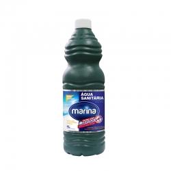 Água Sanitária Marina - Caixa com 12 uni. de 1L