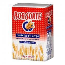 Farinha de trigo Especial Boa Sorte - Embalagem de Papel 10/1Kg