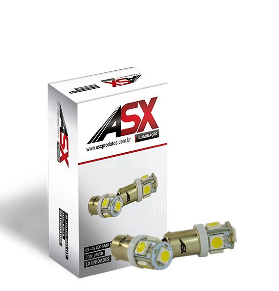 69 05 LED SMD   ASX Produtos