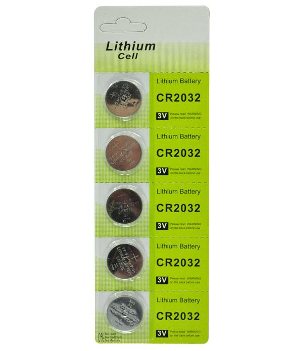 Bateria de Lithium 3V CR2032