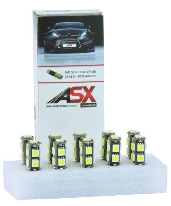 T10 9 LEDS 5050 STROBE 12V