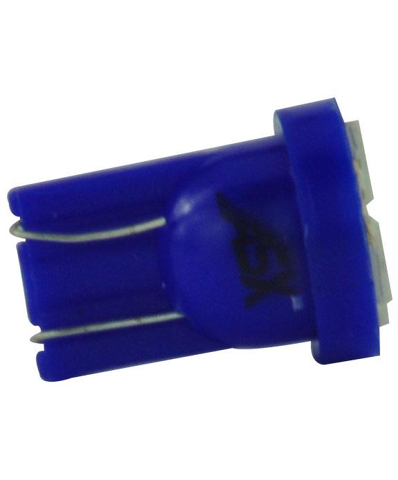 T10 4 LEDS AZUL 12V | ASX Produtos