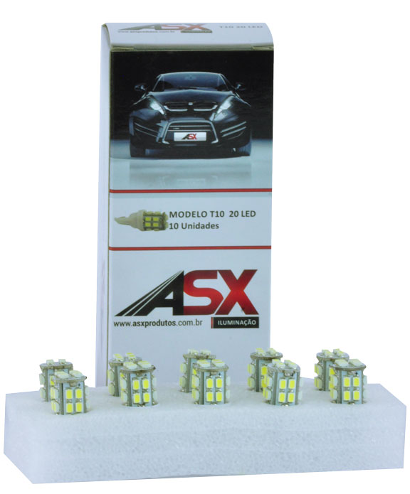 T10 42 LEDS 12V | ASX Produtos