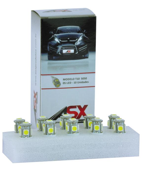 T10 05 LED 5050 12V | ASX Produtos
