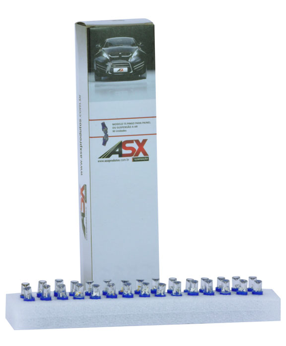 T5 1 LED AZUL 12V | ASX Produtos