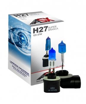 LÂMPADA H27 SUPER BRANCA 55W 12V | ASX Produtos