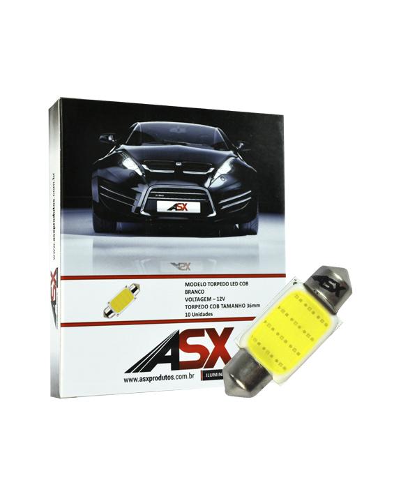 TORPEDO LED COB 36MM   ASX Produtos