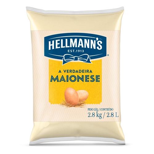 MAIONESE HELLMANN'S BAG 2,8 KG