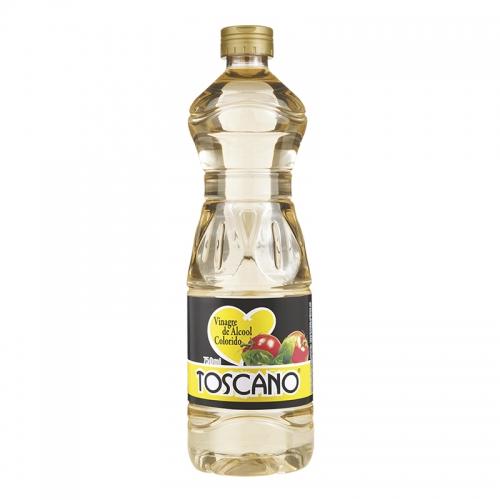 VINAGRE ÁLCOOL COLORIDO TOSCANO 750 ML