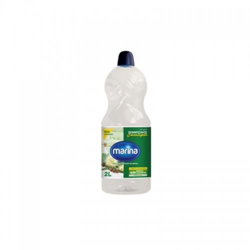 Desinfetante Marina Eucalipto - Caixa com 6 unidades de 2Lt