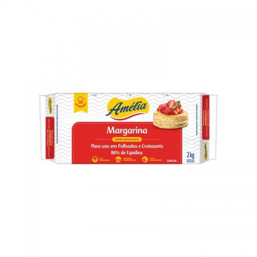 Margarina Amélia Folhada Perfomance 2kg