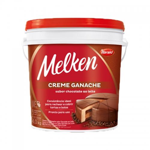 Ganache Chocolate ao Leite Melken Harald 4kg