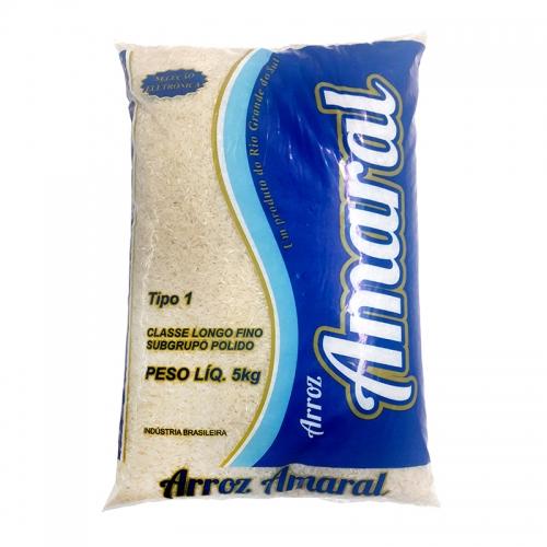 ARROZ TIPO 1 AMARAL 6-5KG