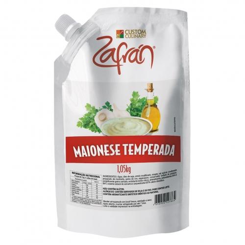 MAIONESE TEMPERADA ZAFRAN 1,05 KG