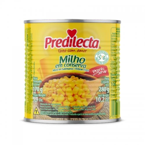 MILHO VERDE PREDILECTA LATA 24/170 GR