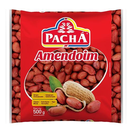 AMENDOIM DESCASCADO PACHA 20/500 GR