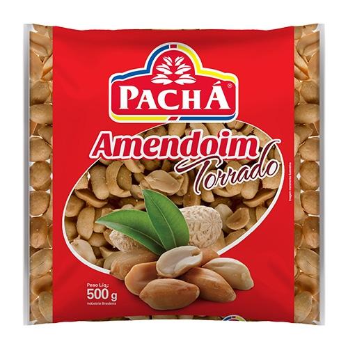 AMENDOIM TORRADO PACHA 20/500 GR