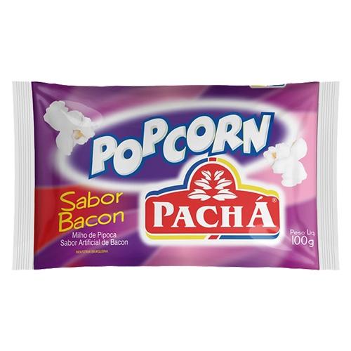 PIPOCA MICROO POPCORN BACON 24/100 GR