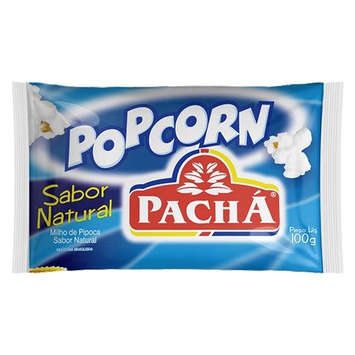 PIPOCA MICROO POPCORN NATURAL 24/100 GR