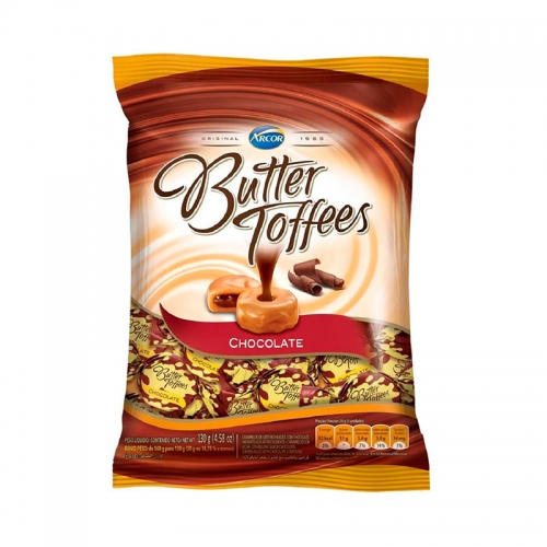 BALA BUTTER TOFFEES CHOCOLATE 500 GR